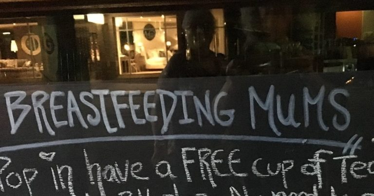 This Australian Cafe Has Breastfeeding Moms Cheering