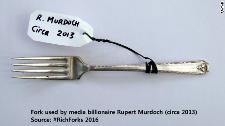 Why I have Prince Harry's fork, by artist V-T-R