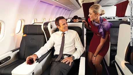 How much would you pay for a flight upgrade?
