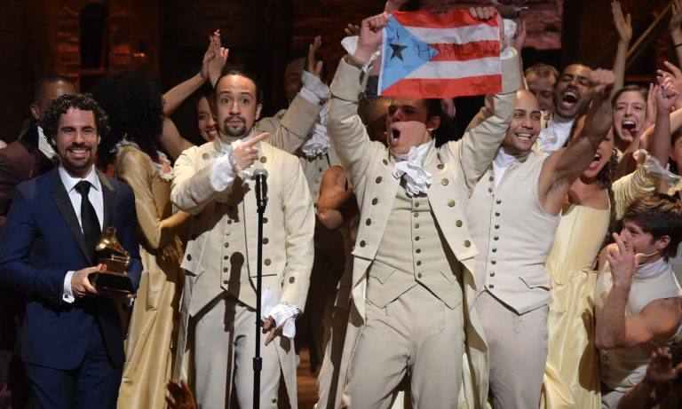 Tony awards: Hamilton musical makes history with 16 nominations
