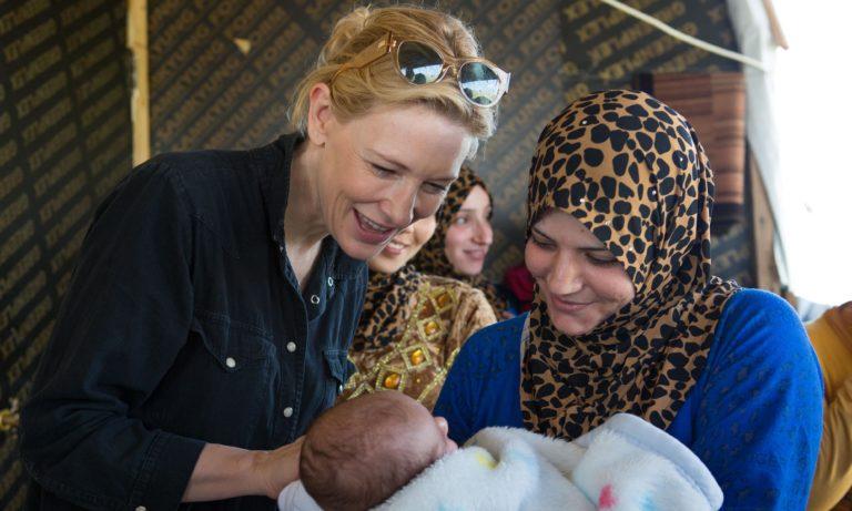 Cate Blanchett appointed UN refugee agency's goodwill ambassador