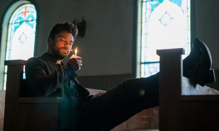 Preacher: 'It's bigger than Breaking Bad. It's a romp'