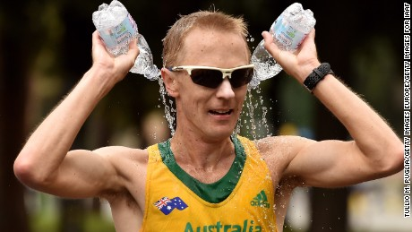 Jared Tallent: Australian pipped to gold by athlete returning from doping ban