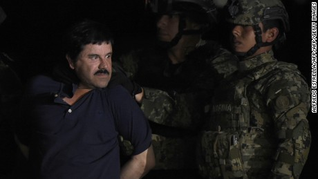 'El Chapo' transferred to prison in Juarez, near U.S.