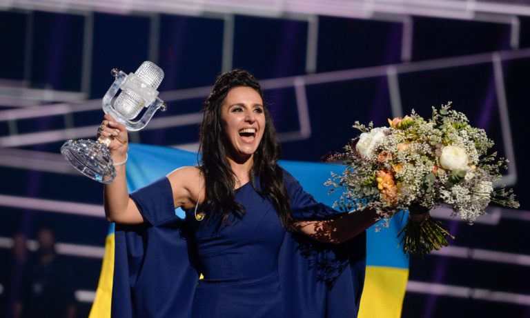 Ukraine wins Eurovision song contest with politically charged 1944
