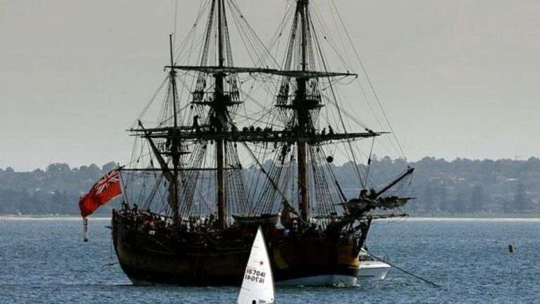 Experts plan effort to explore Captain Cook's ship Endeavour in Newport Harbor | Fox News