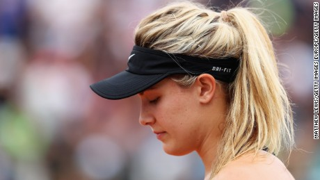 Eugenie Bouchard's comeback taking shape with win over No. 2 Angelique Kerber