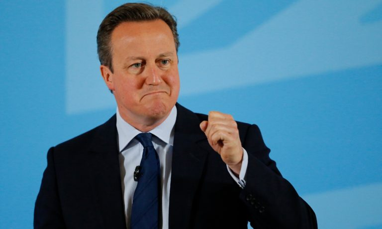 Isis leader probably in favour of Britain leaving EU, says David Cameron
