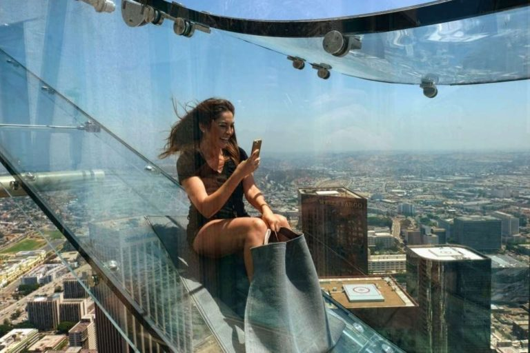 Los Angeles opens terrifying 1000 foot tall skyscraper slide | Fox News