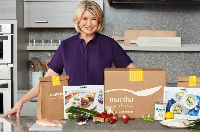Martha Stewart launches her own meal kit delivery service