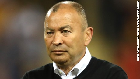 England rugby coach Eddie Jones hits out at 'demeaning' treatment