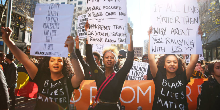 Black Lives Matter Calls For Global Change At United Nations Assembly