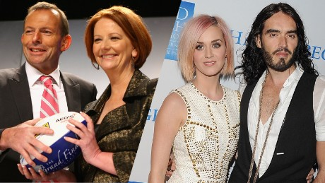 Quiz: Australian PM or celebrity marriage — which lasted longer?