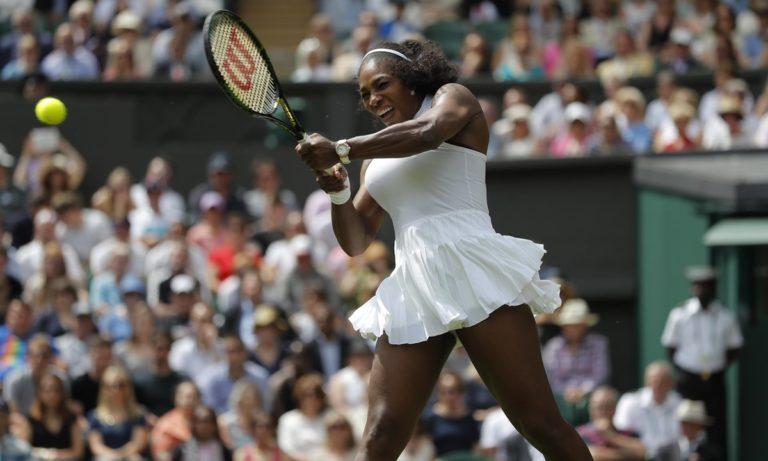 Serena Williams through despite being frustrated by Sadikovic at Wimbledon