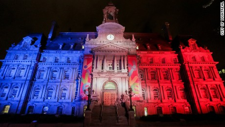 Attack in Nice: World lights up for France
