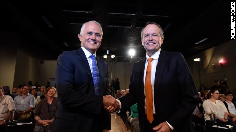 Australian voters head to the polls in election cliffhanger
