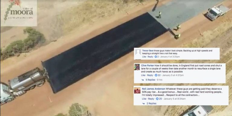 Somehow 14 million people have watched a video of a road being paved